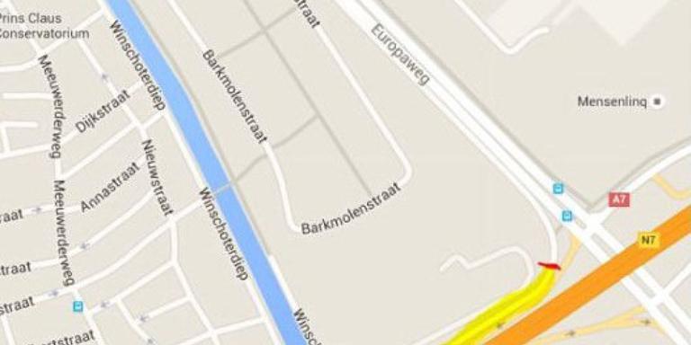Fietsroute dicht voor ombouw Ring Zuid Groningen