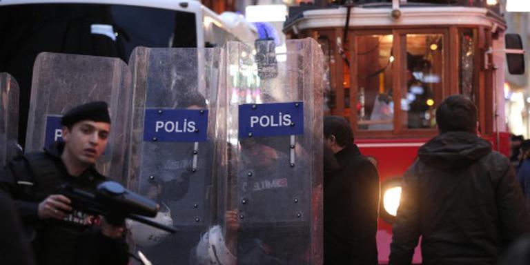 Politie grijpt in bij betoging Istanbul