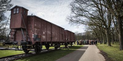 In de nacht van 8 op 9 januari wordt Maurits Wolder getransporteerd naar kamp Westerbork. Foto: ANP