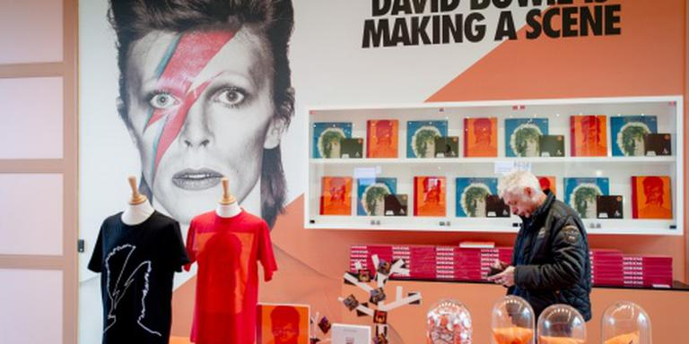 David Bowie langer in het Groninger Museum