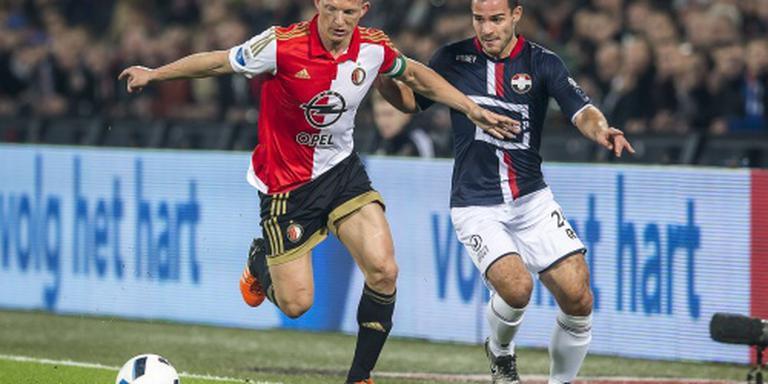 Feyenoord in verlenging langs Willem II