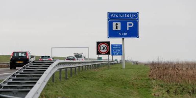 Afsluitdijk (A7) naar Friesland afgesloten