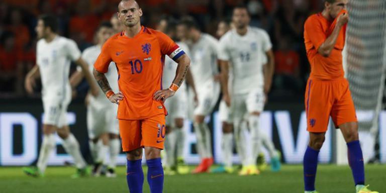 Nieuwe rol voor Sneijder in Oranje