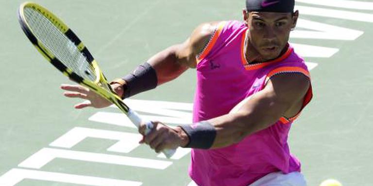 Nadal treft Federer in Indian Wells