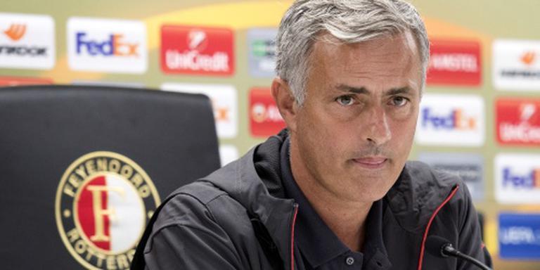 Mourinho wil boodschap afgeven in Rotterdam