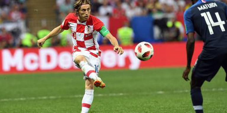 Modric beste speler van WK