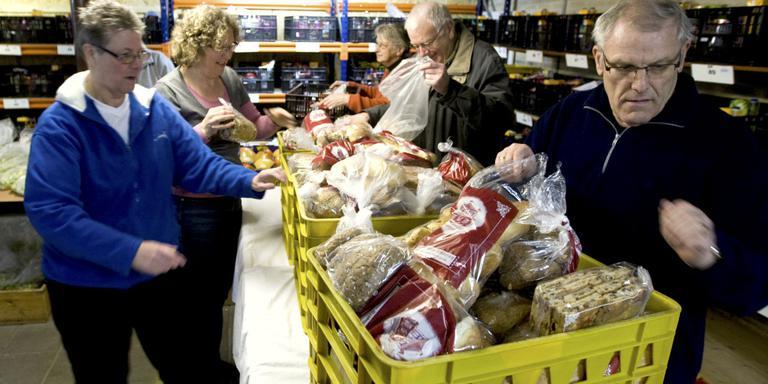 De voedselbanken in Midden-Drenthe zoeken een nieuwe voorzitter. FOTO ARCHIEF DVHN