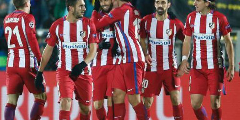 Kleine uitzege Atlético op Rostov