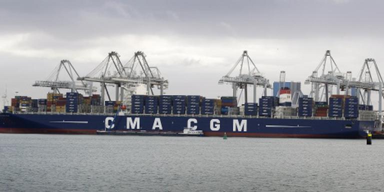 Iets meer zeeschepen in haven Rotterdam
