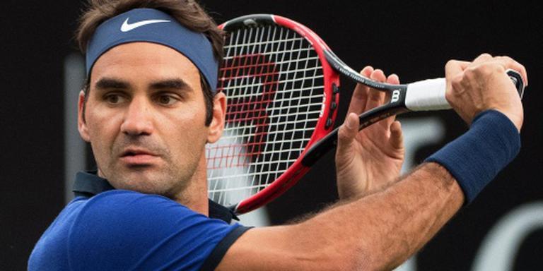 Moeizame rentree Federer
