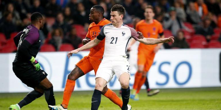 Frankrijk speelt in eerste helft met Oranje