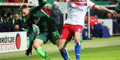 Werder in slotfase langs Hamburger SV