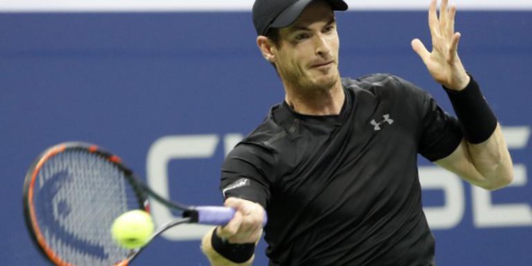 Andy Murray door op US Open