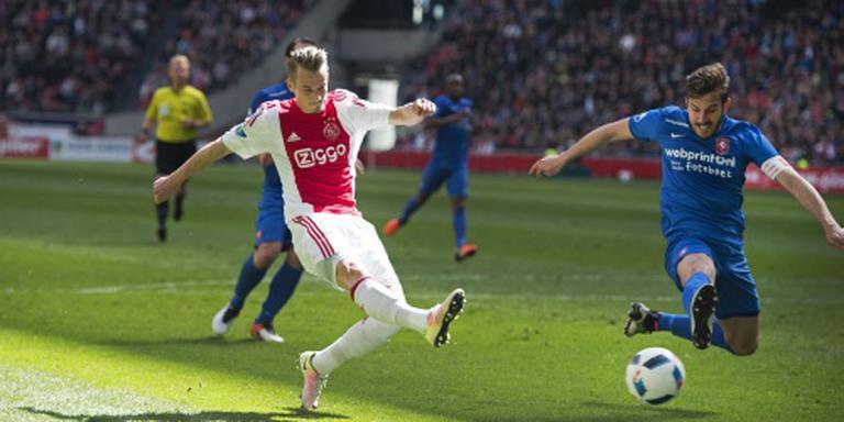 Ajax en PSV met evenveel punten finale in