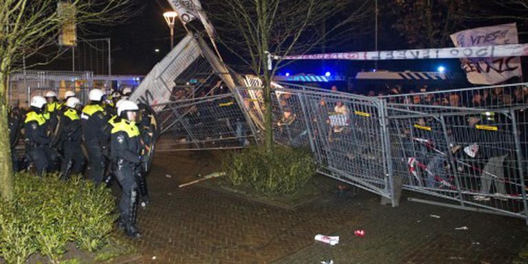 Politie krijgt veel beeld rellen Geldermalsen