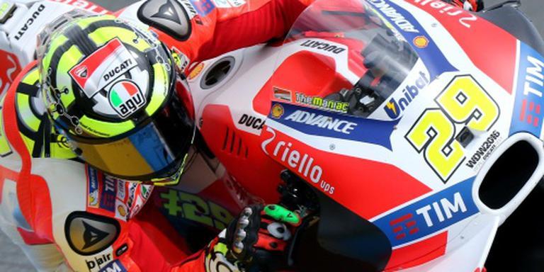 Ducati neemt afscheid van Iannone