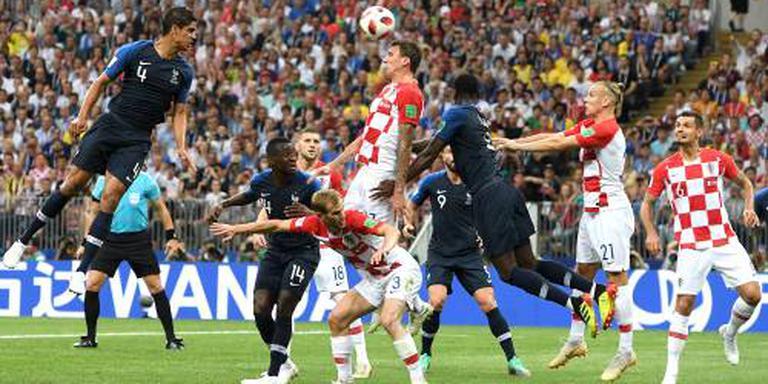Eerste eigen doelpunt Mandzukic in WK-finale