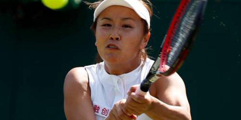 Tennisster Peng geschorst wegens vals spel