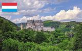 Het Kasteel van Vianden in Luxemburg is geopend (maar je moet wel een mondkapje dragen).
