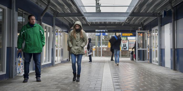 Tijdelijk station Assen open