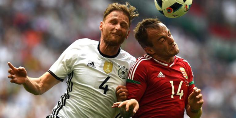 Duitsland wint plichtmatig van Hongarije