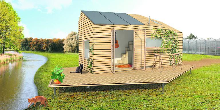 Grootse plannen voor kleine huisjes plus for Kleine huizen inrichten