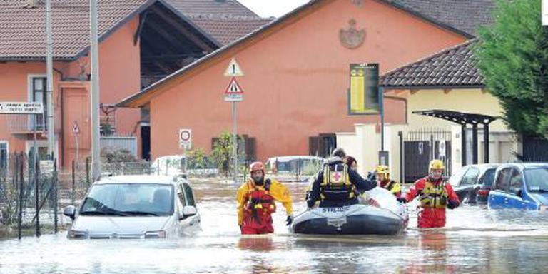 Wateroverlast Italië maakt honderden dakloos
