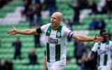 Arjen Robben schittert halve wedstrijd tegen Arminia Bielefeld. 'Ik zit in een proces, ik wil op niveau komen'