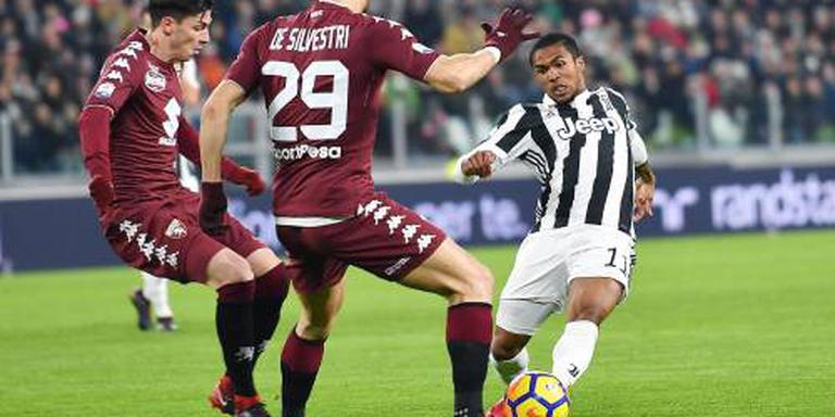 Juventus naar laatste vier na zege op Torino