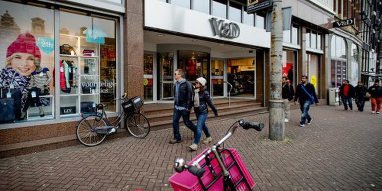 V&D Kalverstraat Amsterdam ontruimd