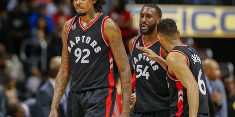 Raptors blijven winnen in NBA