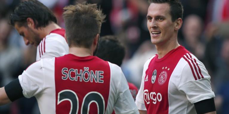 Ajax ongewijzigd tegen SC Cambuur