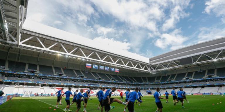 Stadion Lille krijgt nieuwe grasmat