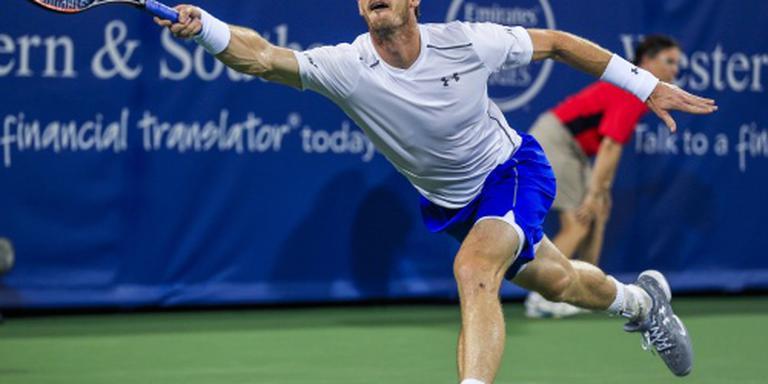 Murray blijft ook in Cincinnati winnen