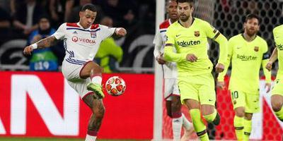 Lyon houdt slordig Barcelona in bedwang