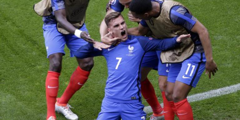 Frankrijk op EK na rust langs Ierland
