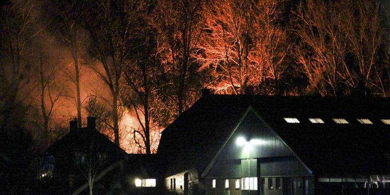 Bewoner Vriescheloo aangehouden voor brandstichting