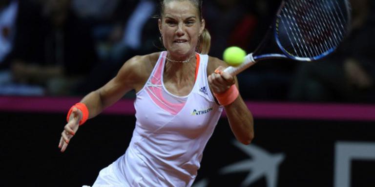Tennisster Rus mist finale in Rome