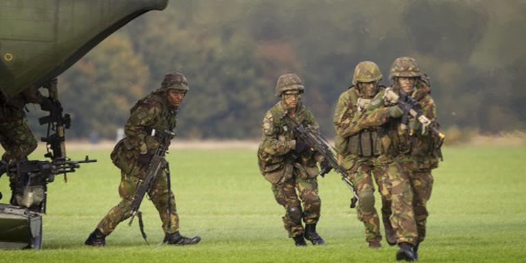 Hinder door 1000 militairen in oefening