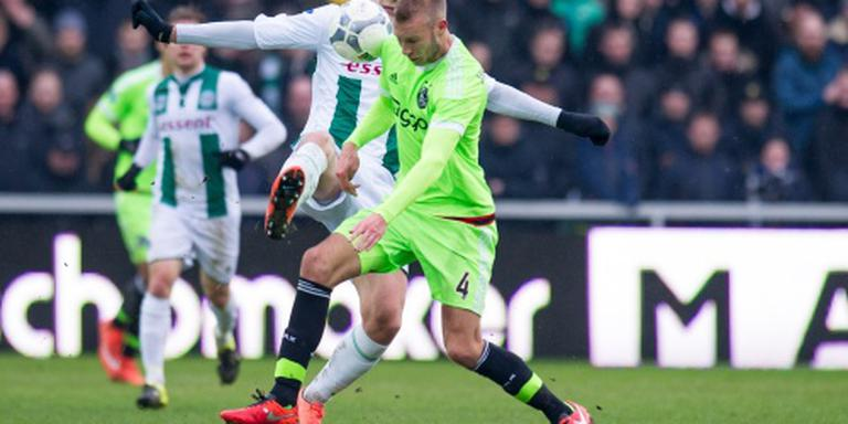 Ajax verslaat FC Groningen