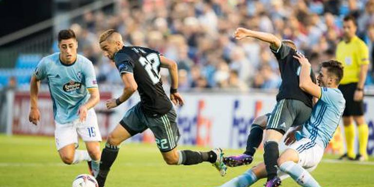 Eerste averij Ajax in Europa League
