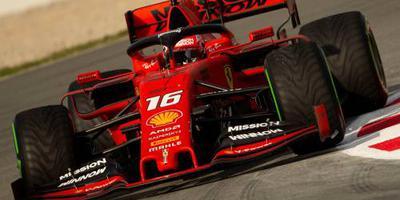 Ferrari opnieuw snel, Gasly glijdt van circuit