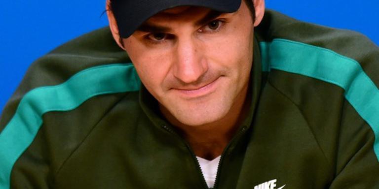 Federer eenvoudig verder in Melbourne