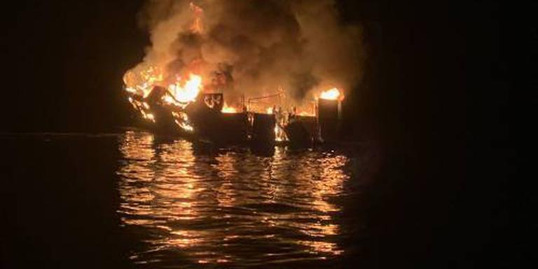 34 vermisten na scheepsbrand Californië - Buitenland - DVHN nl
