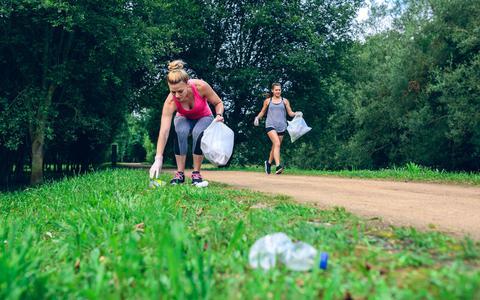 Plogging: rennen en opruimen tegelijk (en nu ook in Groningen)