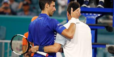 Djokovic verliest in vierde ronde Miami