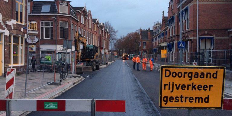 Oostersingel Groningen nog lang niet klaar