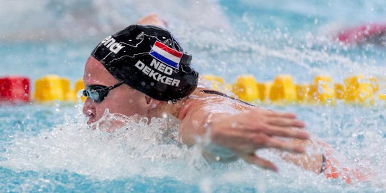 Rentree zwemster Dekker in Rome