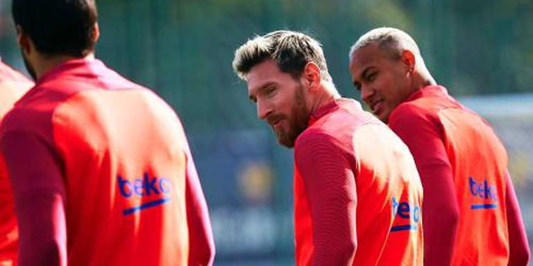 Messi keert terug bij Barcelona