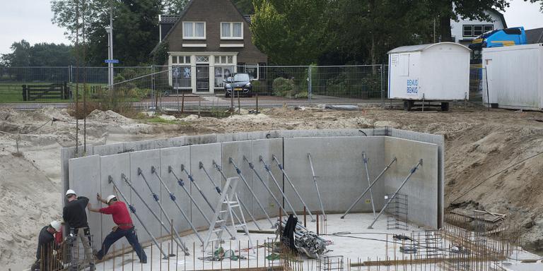 In Zuidoost-Drenthe neemt de afgifte van vergunningen van nieuwbouwwoningen af.